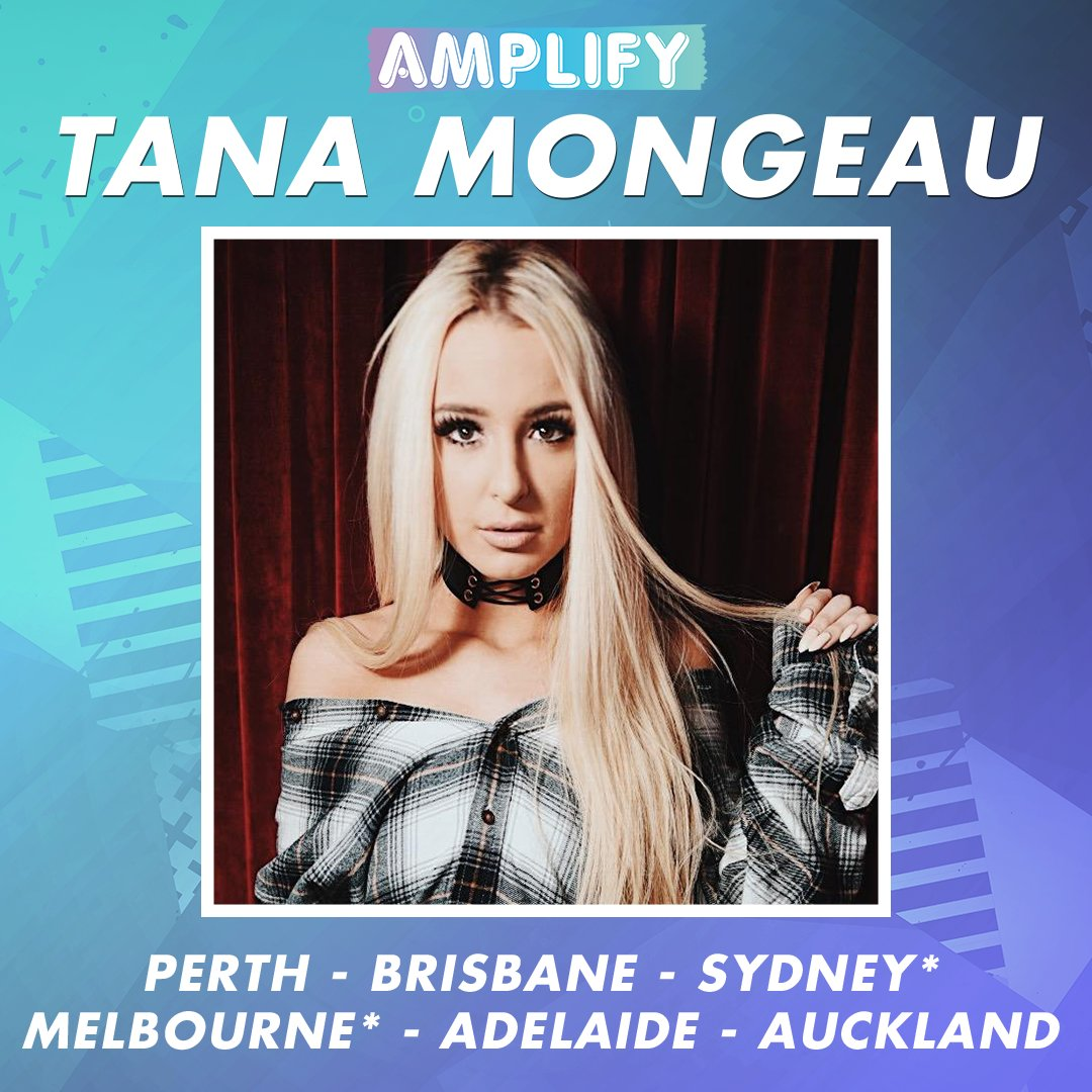 RT if you're excited for @tanamongeau to take the stage at #AmplifyLIV...