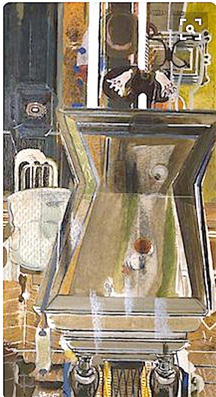#GeorgesBraque&quot;La Table de billard&quot; (Billiard table) 1942-1950 #MetropolitanMuseum #NY <br>http://pic.twitter.com/RBYhmjF41t