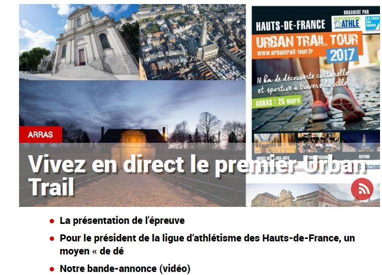 #Arras : Pour vivre en direct le premier Urban Trail, c&#39;est par ici =&gt;&gt;  http:// vdn.lv/aUsB2z  &nbsp;   #TrailArras<br>http://pic.twitter.com/5PcGcCm0pF