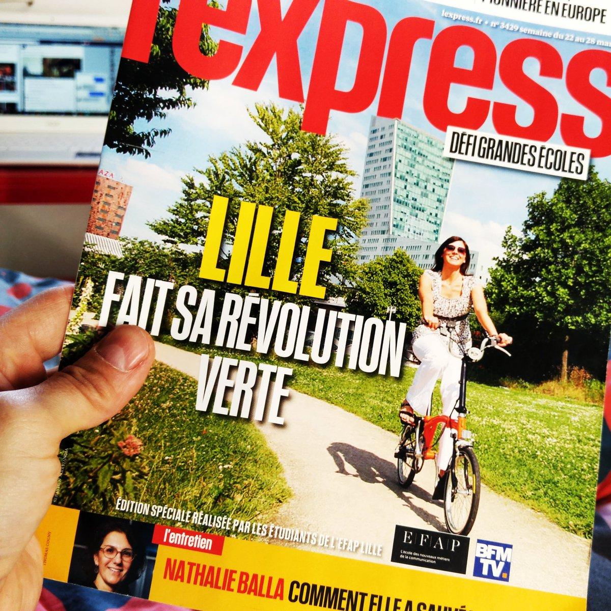 J&#39;entre à #Fnac Lille pour un livre @Skema_MDCE, je repars avec L&#39;Express édité @EFAP_  À @SKEMA_BS on aurait fait une édition numérique <br>http://pic.twitter.com/78eTvHcxU5