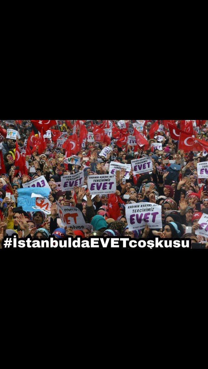 #İstanbuldaEVETcoşkusu EVET BİNKERE EVET  #EnderunGrupları https://t.c...