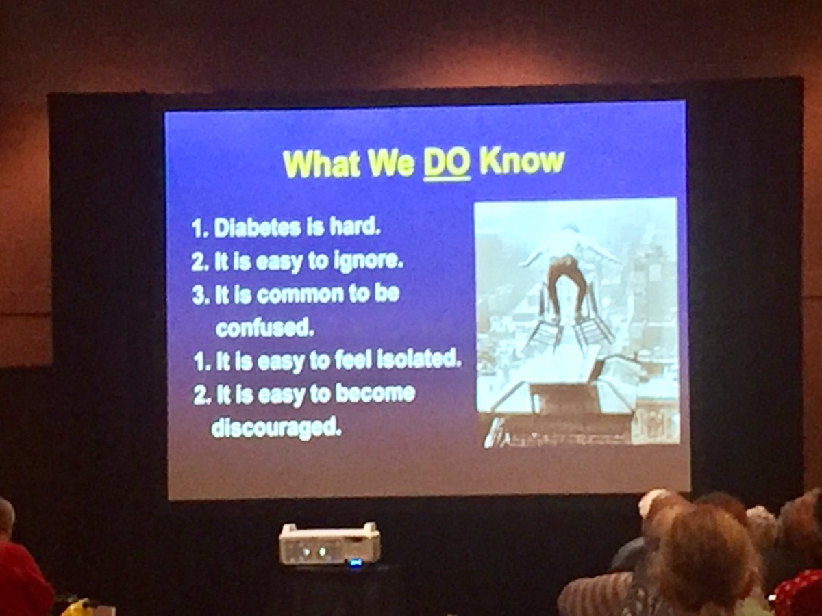 &quot;In this room, if you don&#39;t #diabetes, you are weird!&quot; Dr Bill Polonsky at #TCOYDSantaClara2017 :) #notalone <br>http://pic.twitter.com/dked2zSD2Y