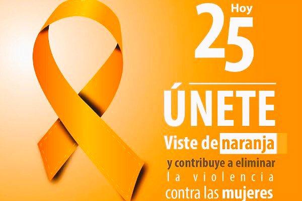 #Feliz Sábado Cada día 25 de mes se conmemora el #DíaNaranja Únete y ayuda a erradicar la violencia en contra de niñas y mujeres<br>http://pic.twitter.com/oKd3NGhGyZ