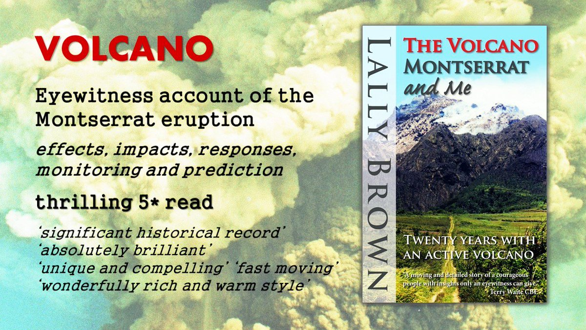 Is  #SoufriereHills  #Montserrat  #Volcano  your Case Study for Geography exams? Then this book is a #mustread  https://t.co/hDYslz6Me0 https://t.co/dR1OlprwSx