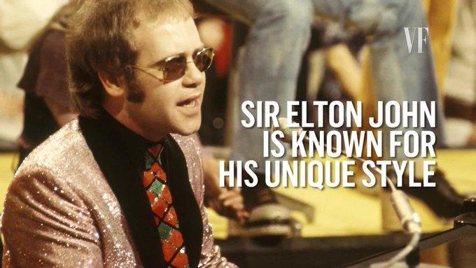 Happy birthday to the iconic Elton John!