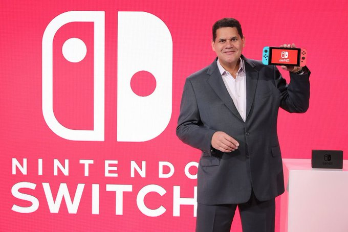 We want to wish a Happy Birthday to the president of Nintendo of America, Reggie Fils-Aime.