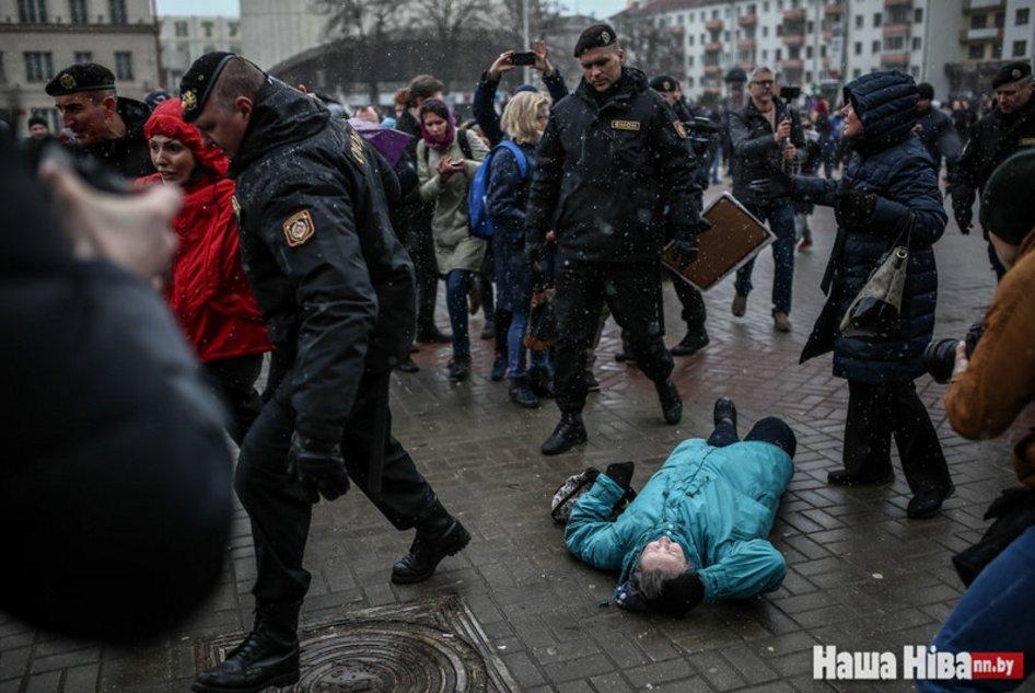 День Воли в Киеве: в столице Украины прошла акция солидарности с белорусскими политзаключенными - Цензор.НЕТ 685