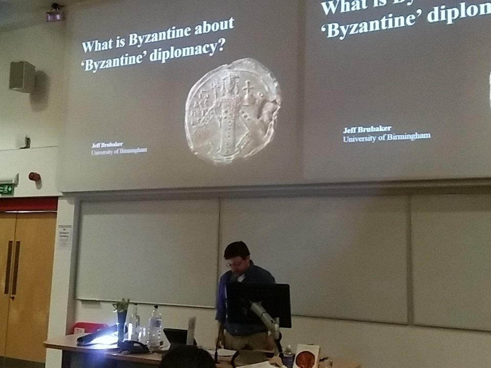#GlobalByzantium Jeff Brubaker on what is 'Byzantine' about Byzantine diplomacy? https://t.co/fAeUxnU2bu