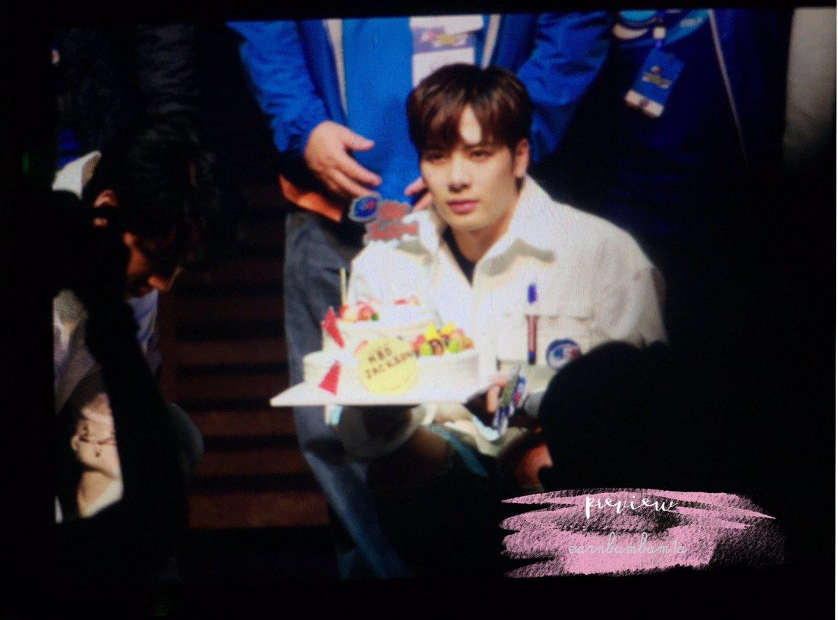 170325 Est FM in Korea Jackson Birthday Surprise🎂💕 #JacksonWang #잭슨 #estGOT7inKorea
