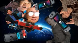 Happy Birthday to our BOI Reggie Fils-aime. Lets ride the switch hype train to the SUN!!!!