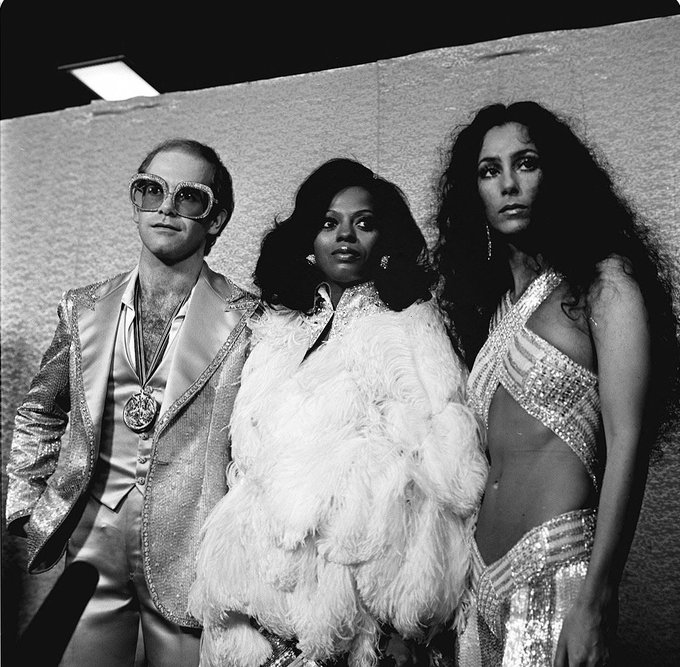 Elton John (March 25, 1947). Happy 70th birthday, Sir Elton!