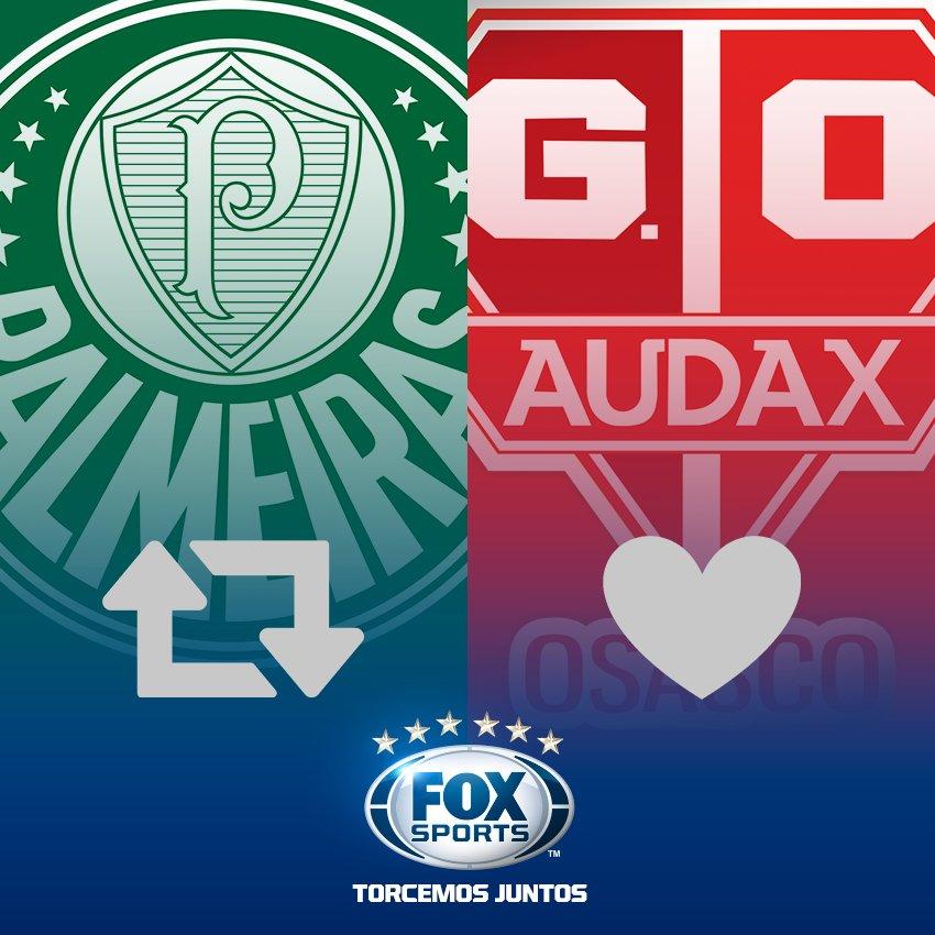 Mais uma vítima? Hoje tem #Palmeiras e #Audax! Façam seus palpites! ht...