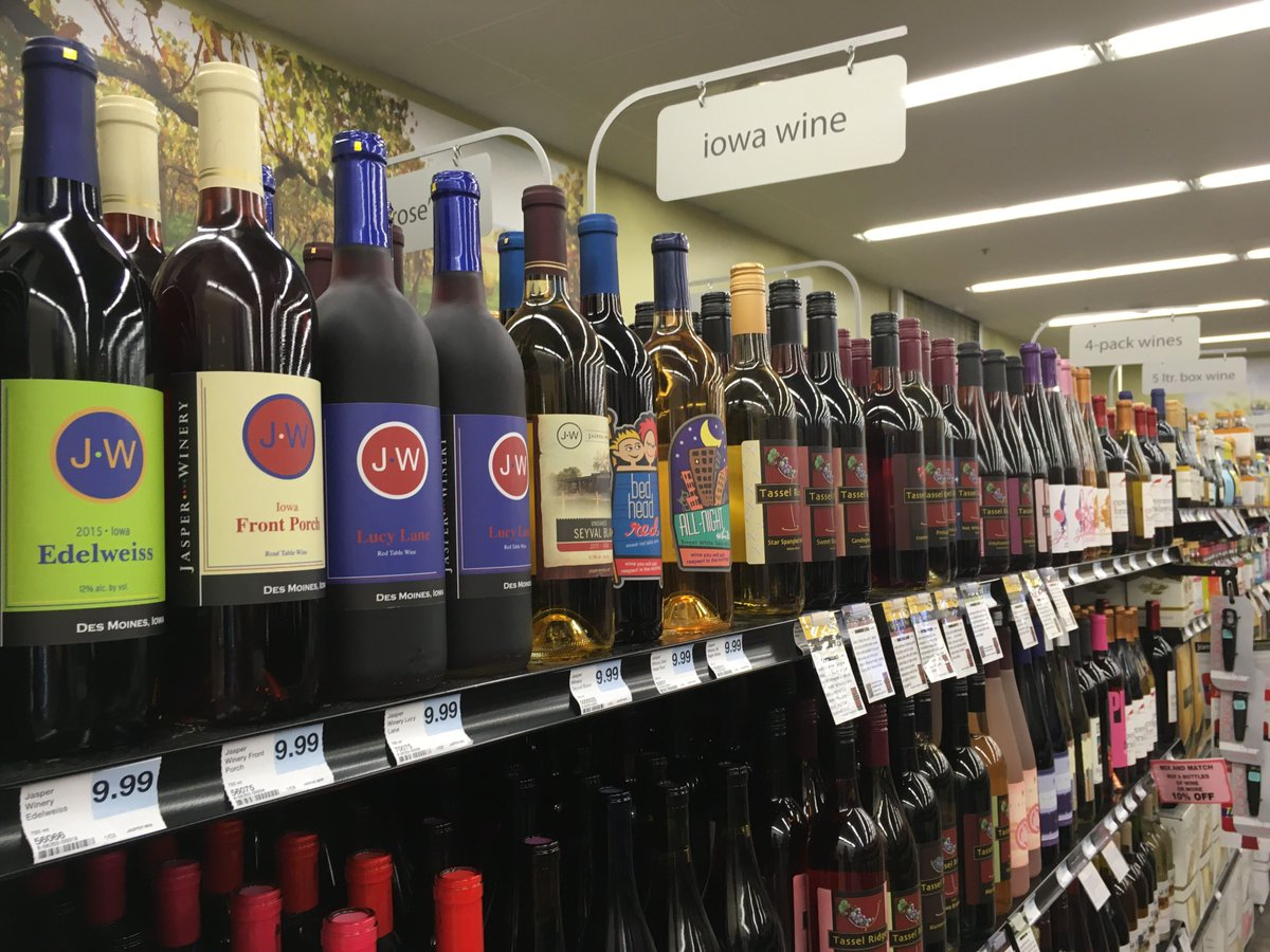 We've expanded our Iowa Wine and Rosé selection! 🍷Stop in and check ou...