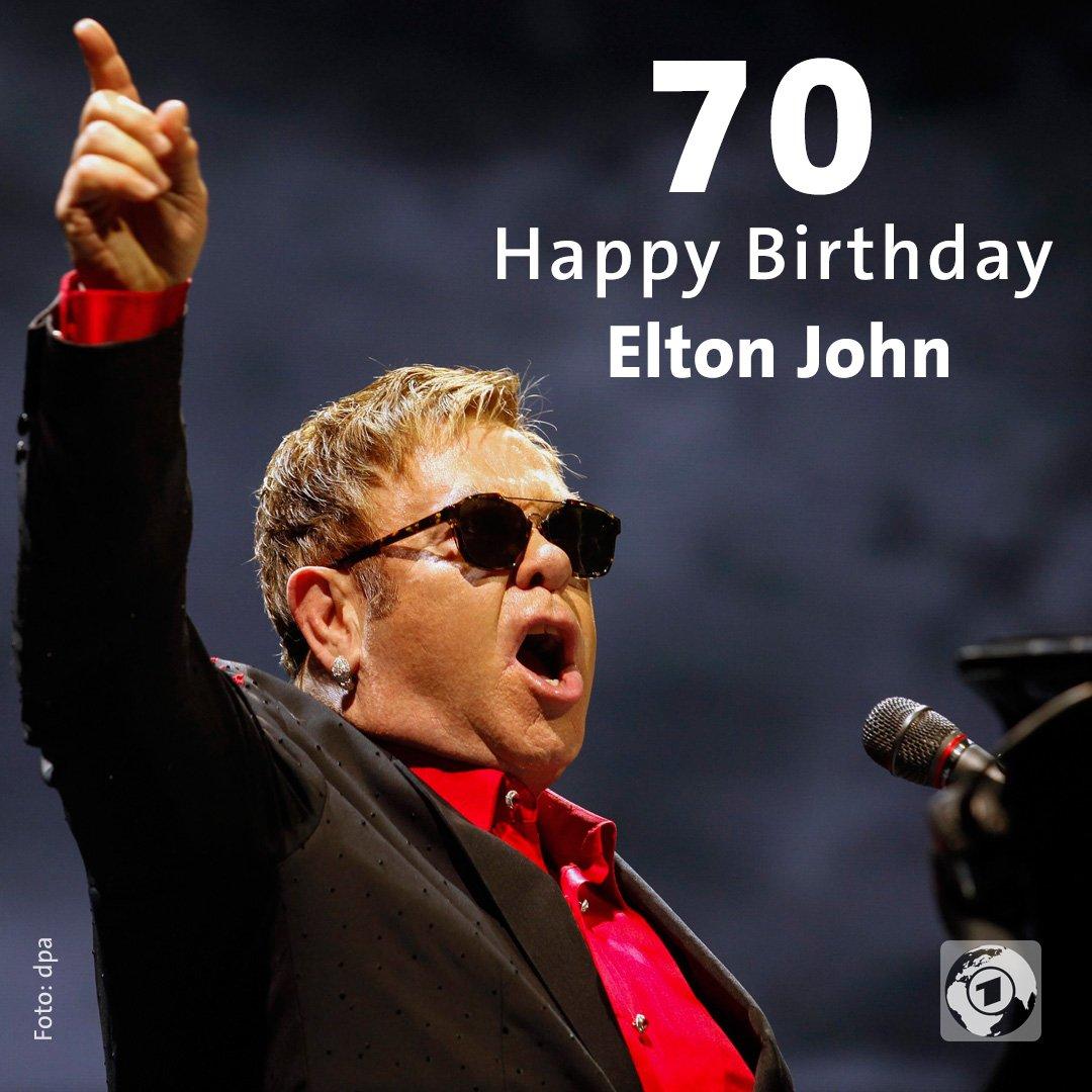 #EltonJohn feiert 70. Geburtstag https://t.co/3dgwqoRw5w https://t.co/...