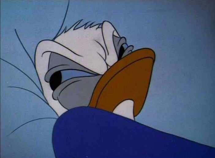 When you wake up and you don't feel his dick on your back