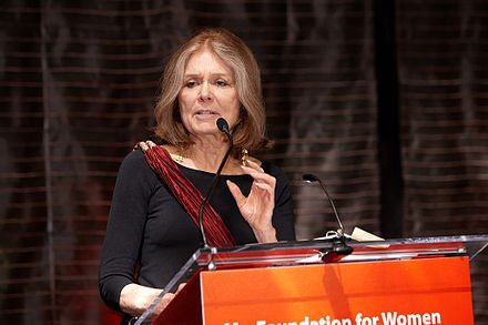 Happy birthday Gloria Steinem (b. 1934) Women\s rights activist