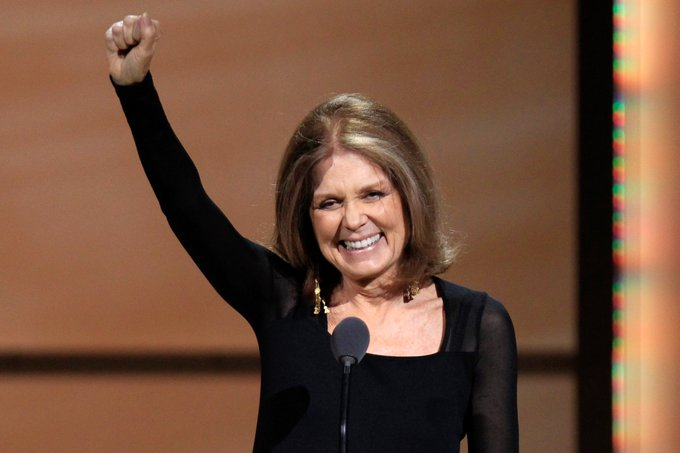 Happy Birthday Gloria Steinem! Feminist. Journalist. Dissenter. A career fighting for social justice.