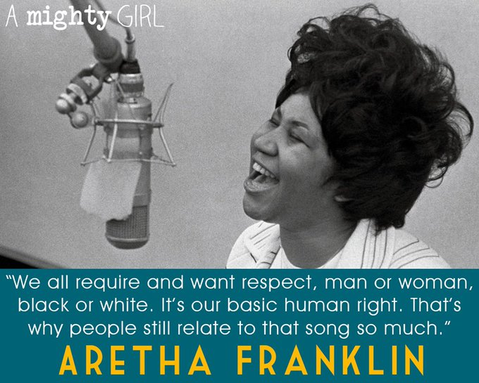 A Mighty Girl wishes a happy birthday to Queen of Soul Aretha Franklin!