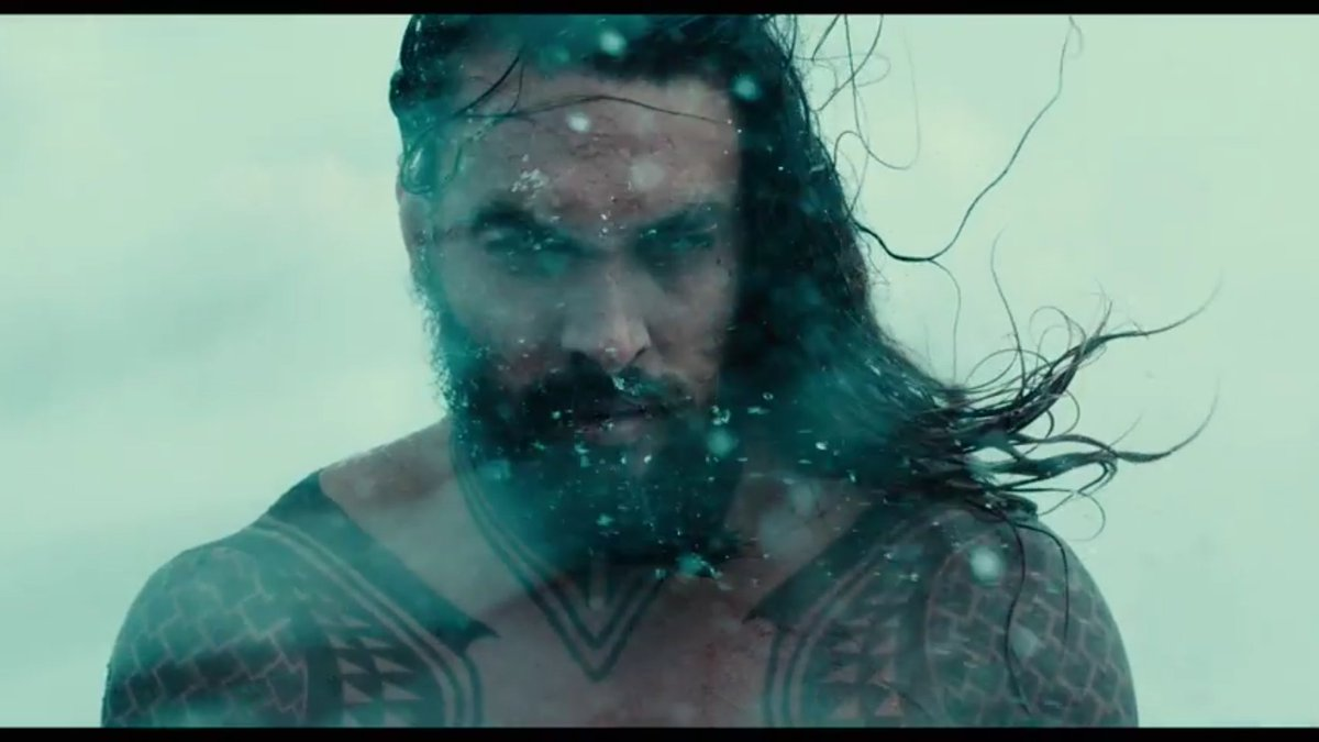 So this #JusticeLeague trailer is a great promo for the AquaMan movie....