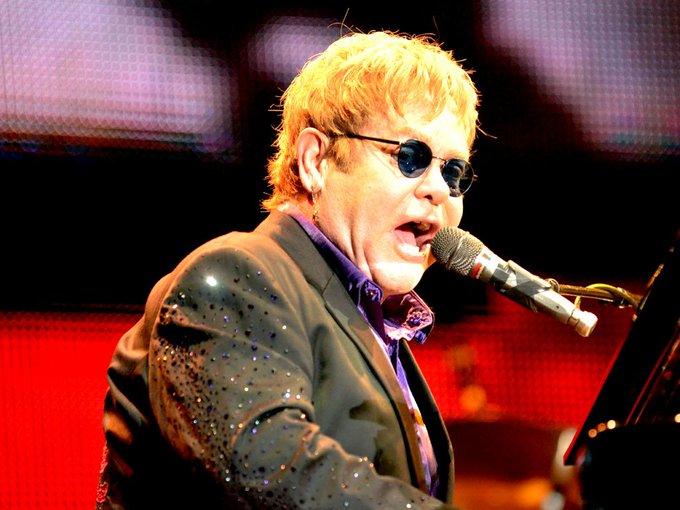 Happy birthday, Rocket Man!!! Elton John turns 70 today.