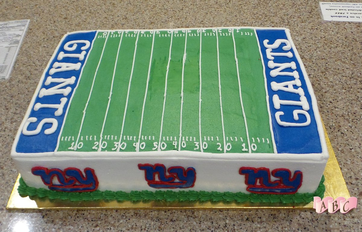 Superb Abc Cake Shop On Twitter Do We Have Any Ny Giants Fans Come Get Funny Birthday Cards Online Inifodamsfinfo