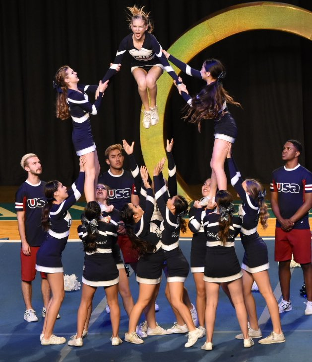 Last time CE cheer made finals, most of these girls were in pre-school. #itstime #we&#39;rehungry #fierce #focused #fighters #abouttobeFLAWLESS<br>http://pic.twitter.com/Ag2HVI9aC1