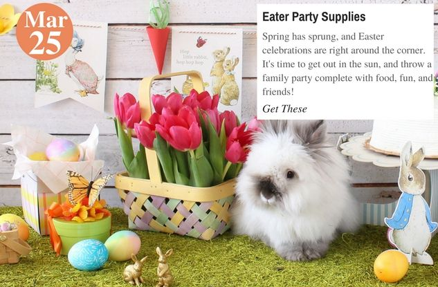 Easter #Celebration #Eater Party Supplies:  http:// buff.ly/2nks2cq  &nbsp;    #teelieturner #party #partysupplies #shopping #beaucoup <br>http://pic.twitter.com/bIvBfS51it