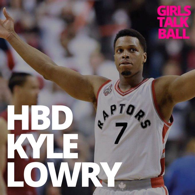 Happy birthday to Kyle Lowry of the Toronto Raptors!
