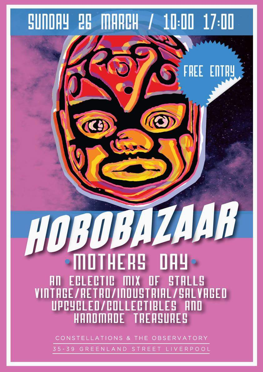 Bring Yer Ma to #hobobazaar @ConstellationsL  #brunchclub #liveacousticstage #vintage #handmade #festival #treasures #localcreatives<br>http://pic.twitter.com/W88viPBLNj &ndash; à Constellations