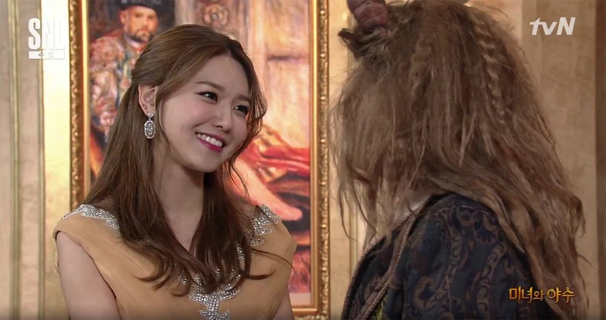 Girls\' Generation\'s Sooyoung parodies \'Beauty and the Beast\' on \'SNL Korea 9\'