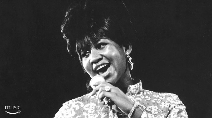 AmazonMusic Happy birthday to the Queen of Soul, ArethaFranklin