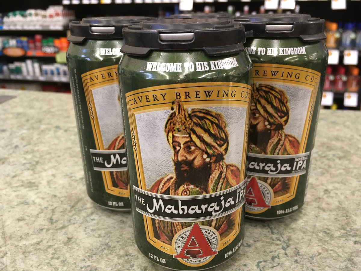 New brew! The Maharaja IPA from @AveryBrewingCo 🍻 https://t.co/Iw9J7VC...