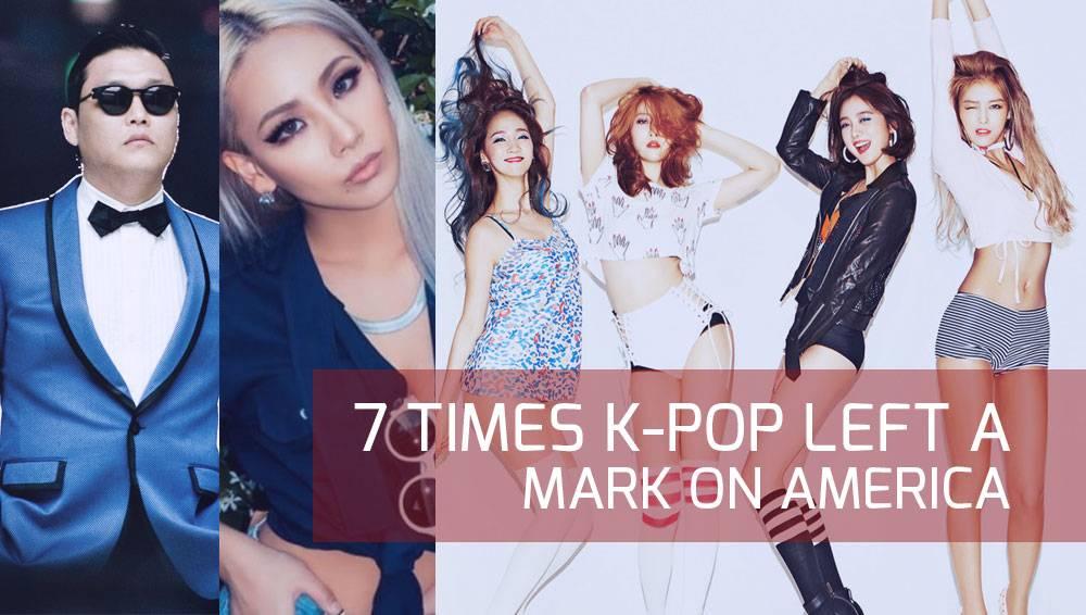 7 times K-Pop left a mark on America