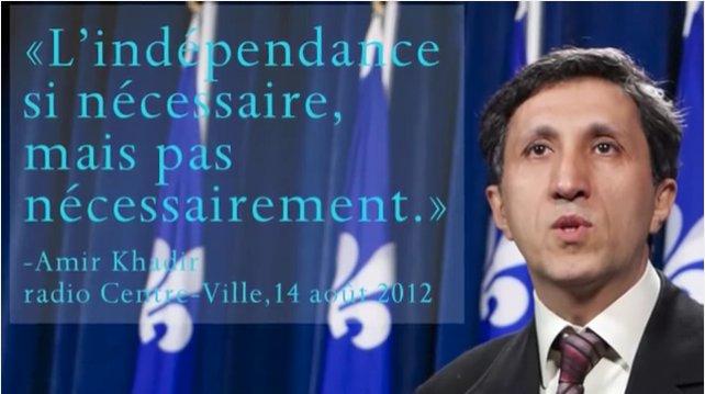 Étrange que #ON songe à fusionner avec un parti dont la politique est «L&#39;indépendance si nécessaire mais pas nécessairement » #PolQc #QS<br>http://pic.twitter.com/ahSjXg1kfT
