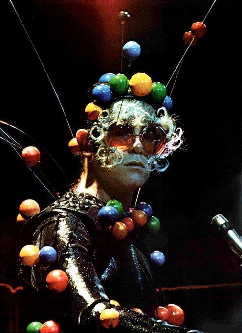 Happy 70th birthday to the Captain Fantastic, Sir Elton John.