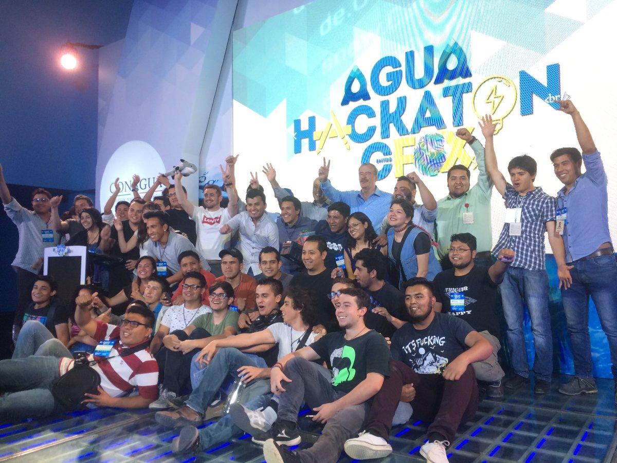 ¡Felicidades a los 10 equipos finalistas del #AguaHackaton!