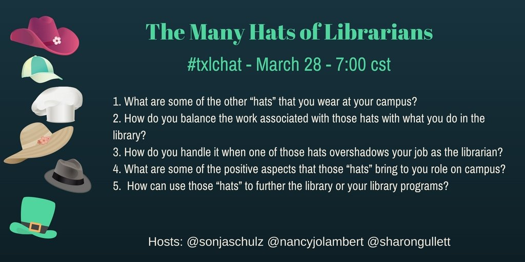Looking forward to next Tuesday's #txlchat. Hope you can join us. https://t.co/vnFfgS7vWE
