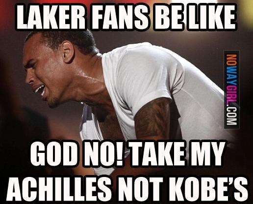 #medical #humor #videos #meme #funny memes #kobe bryant injury #fans #funny #kobe bryant #funny photos #lol  http://www. docjokes.com/i/funny-memes- since-kobe-got-injured-laker-fans-be-like-nowaygirl.html &nbsp; … <br>http://pic.twitter.com/wQU7jBvUJv