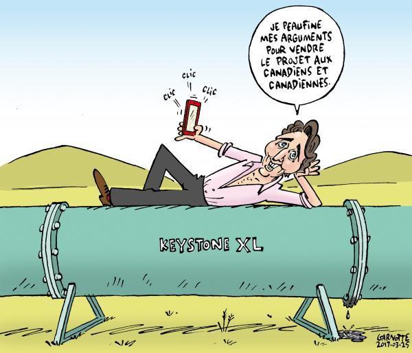 Le coup de crayon du 25 mars  http:// bit.ly/2nTNFSy  &nbsp;   #polcan #keystone #trudeau <br>http://pic.twitter.com/kGnGyr43S8