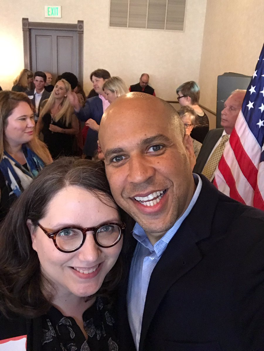 @CoryBooker Such an honor to meet you today. I was so pleased that you support @MomsDemand Thank you for all you do.