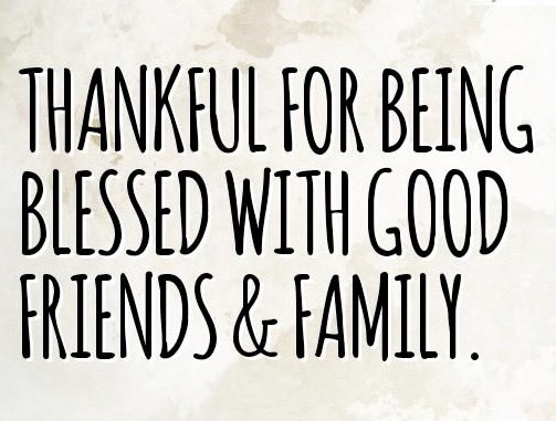 We don&#39;t need a Holiday to be thankful.  We just need to remember the wonderful people in our lives.  Have an Amazing Weekend!  #1u #Blessed<br>http://pic.twitter.com/E6HwfwLoCQ