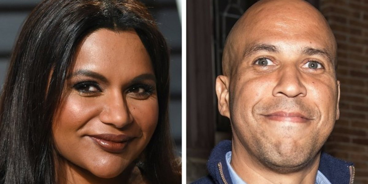 Mindy Kaling says yes to dinner date with Sen. Cory Booker huff.to/2nnAW98