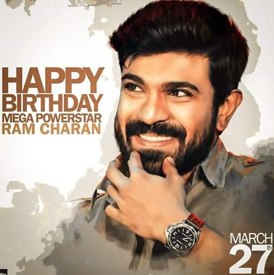 Advance HAPPY BIRTHDAY megapowerstar ram charan