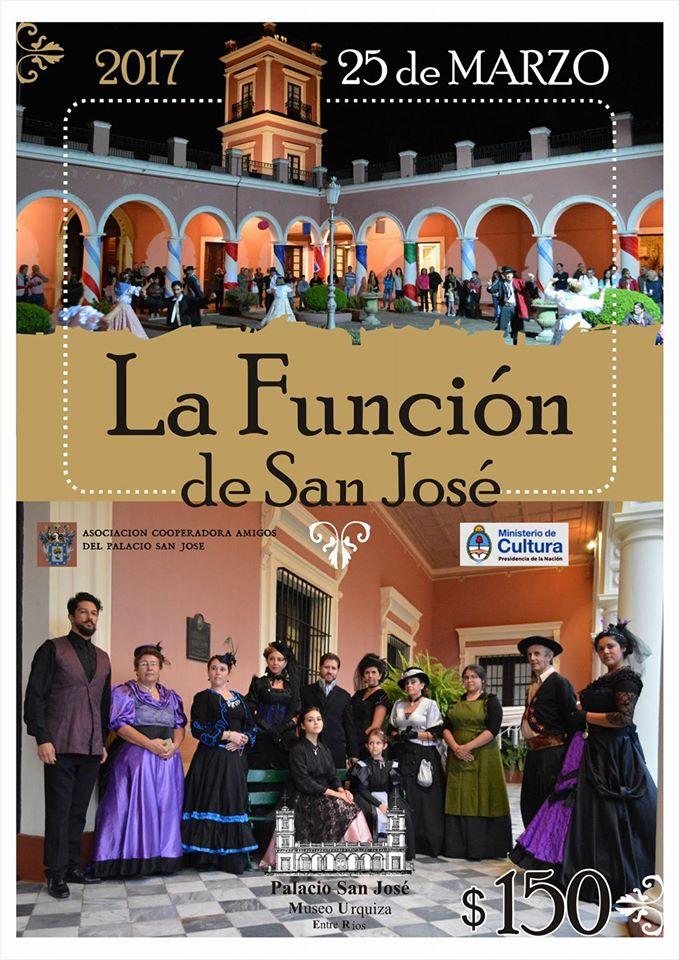 HOY 👉 #LaFunciónDeSanJosé en Palacio San José💃🎊🎉 #danzas, #música, #relatos, #anécdotas... ¡Te esperamos!