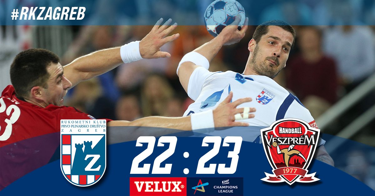 Despite the big fight @mkbveszpremkc take the +1 win in the end! #rkzagreb https://t.co/bxnuPXhFMi