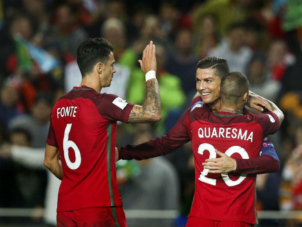 Portugal: Quaresma de volta ao onze, Ronaldo e André Silva na frente h...