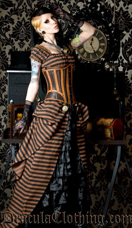 #steampunk #Dress by Dracula Clothing