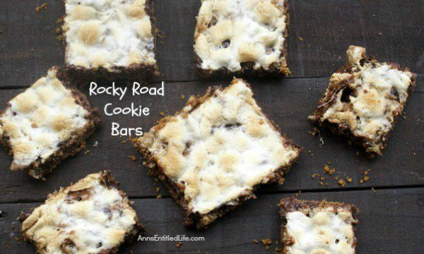 Rocky Road Cookie Bars Recipe