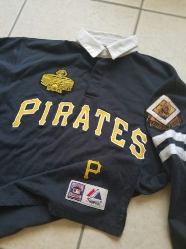 #Collectibles MAJESTIC COOPERSTOWN PITTSBURGH #Pirates SHIRT #Jersey LARGE SEWN 1960 dlvr.it/Nk2By3 #Buzz