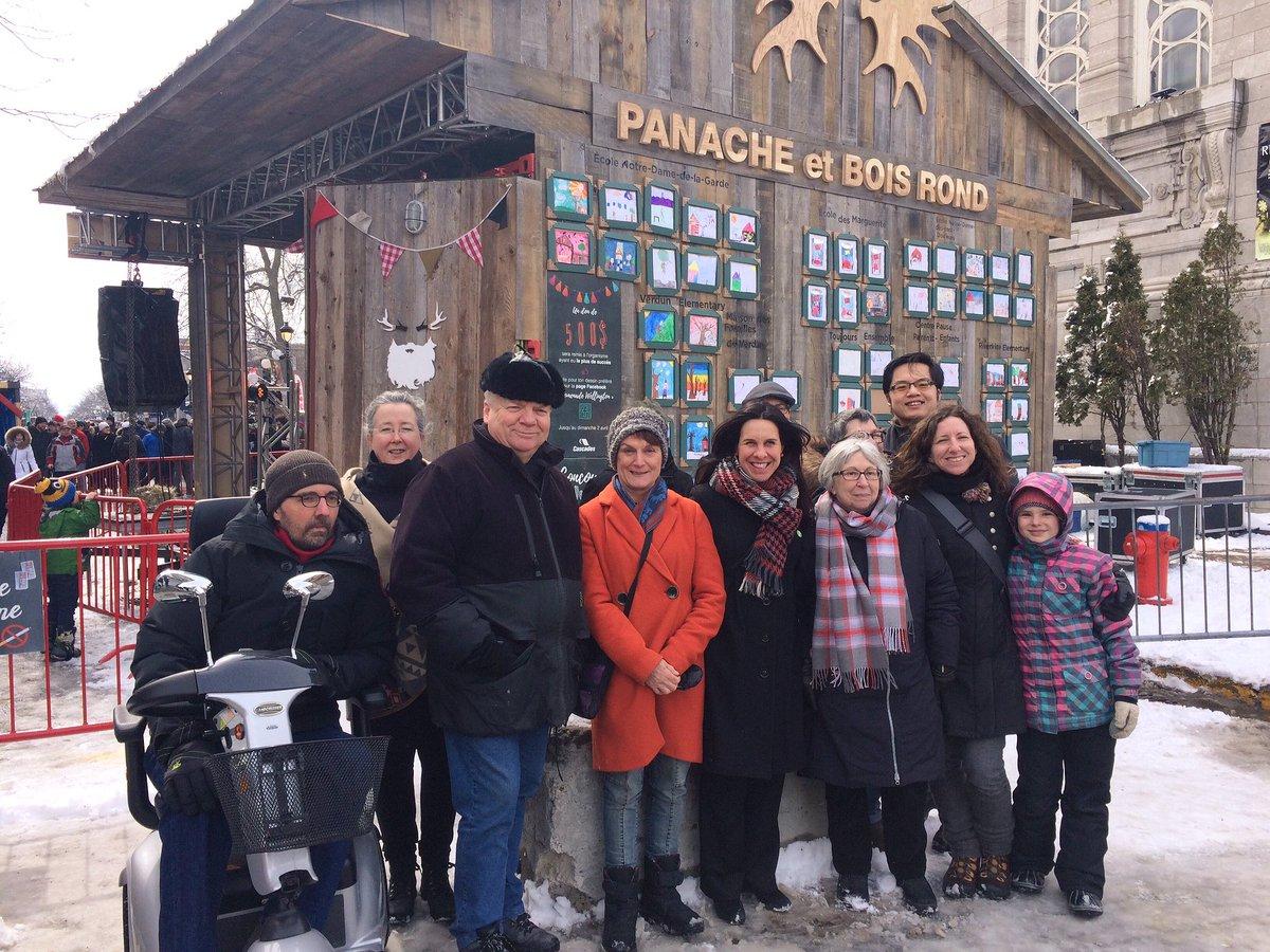 Très contente de découvrir la cabane à sucre urbaine sur la rue Wellington avec la belle équipe de Projet Montréal #Verdun #polmtl<br>http://pic.twitter.com/d9PLXbvmHO